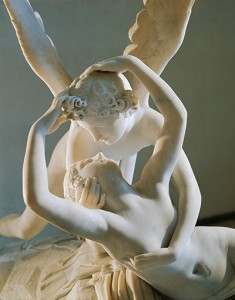 Cupid and Psyche, 1787-1793, by Antonio Canova