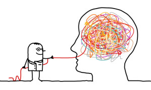 doctor untangling a brain knot